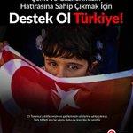 Şehit ve Gazilerimizin Hatırasına Sahip Çıkmak İçin Destek Ol Türkiye ! #ŞehitlerimizinEmaneti https://t.co/P0NyXkWjQ0