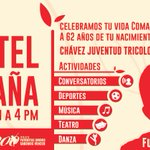 RT INN_LARA: #BolívarYChávezEnBatalla actividades en conmemoración de los 62 años del Comandante Hugo Chávez - 28 … https://t.co/5MGQ5kEFgb