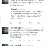 Barkha gains some classy support of a jouranlist .... from Pakistan https://t.co/Self7gkDcF