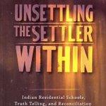 """How do we solve the settler problem?"" Paulette Regan, Unsettling the Settler Within #Ed2Reconcile https://t.co/MKSzfS4fO7"