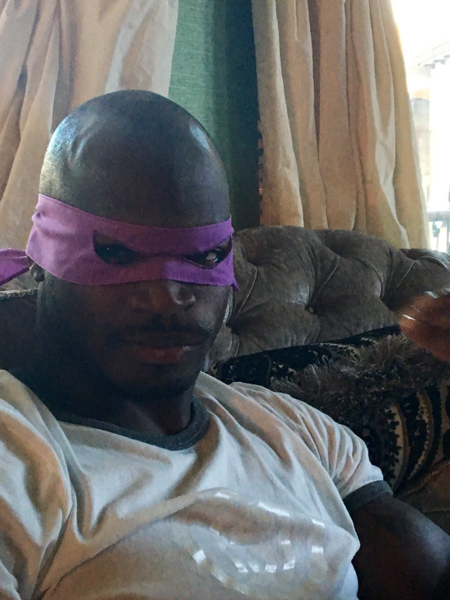 I could no longer withhold this from you all! My secret is out... I am Donatello https://t.co/XbwpSTiGrP