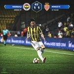 İlk Yarı Sonucu   Fenerbahçe 1-1 Monaco. #FBSKvsASM https://t.co/CykWeW0nBi