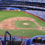 Joaquín Benoit strikes out 2 in his debut! Last chance for the @BlueJays as they come up to bat, trailing 8-4. https://t.co/vgzwO3IiWZ