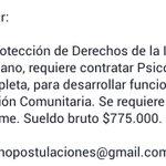 Aviso de trabajo @CIELO_TRONADOR @indignadobiobio @TerremotoTalcah @ndatos_biobio @Amigopenquista @Talcahuano https://t.co/2iUDhu3anN