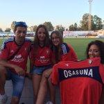 ¡Hasta el estadio Arturo Puntas Vela se han desplazado estos rojillos para animar a #Osasuna! 👏 👏 👏 https://t.co/5Jv0sPt582