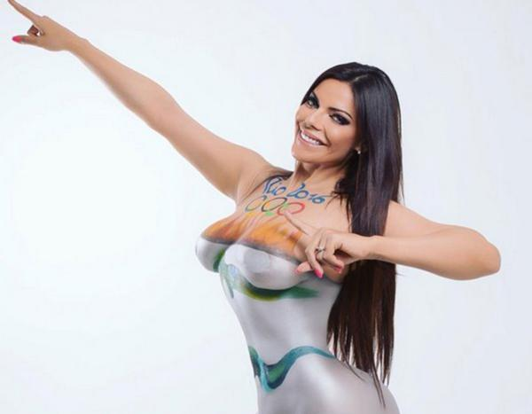 RT @InfobaeAmerica: En imágenes | El sensual body painting olímpico de Miss Bumbum https://t.co/vp5XLCbk8p https://t.co/SFl28sUCds