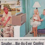Its #hot out there, #ChicoCA! Cool down with this #vintage #airconditioning ad from 1958. 👌🏻 #WayBackWednesday https://t.co/wiFX09pchY
