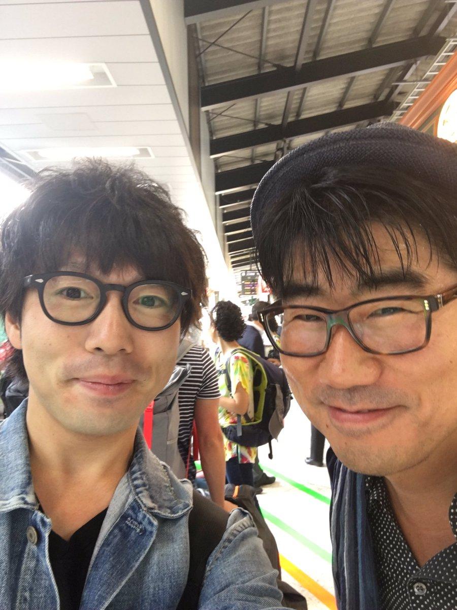 おはようございます😌  仙台へ向かいます。  …てツイートしようとしてたら駅のホームでこの方に遭遇✨…