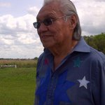 Elder Noel Starblanket is part of todays commemoration of the Regina Indian Industrial School cemetery grounds. https://t.co/vgtAoKVx5r