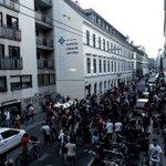 Kein Hufbreit dem Faschismus. Unsere Presseaussendung mit @BirgitHebein zu #blockit. https://t.co/a7R3GCKKen https://t.co/eACM3WjqxN