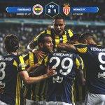 Maç Sonucu | Fenerbahçe 2-1 Monaco. Tebrikler #Fenerbahçe! #FBSKvsASM https://t.co/2AXHAgrDgc
