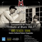 """[12 DE AGOSTO/20:00 HORAS] Participa en el lanzamiento oficial del disco """"Tributo al Blues"""" Volumen 1. #Coquimbo https://t.co/8ZUVscvFS2"""