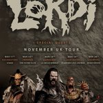 Lordi!! Eurovision Song Contest winners! Get tickets now! #lordi #Eurovision #doncaster #rock #hardrock #heavymetal https://t.co/1mdJOvEfAs