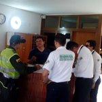#PoliciaTurismo y @MigracionCol  realizaron controles de registro de turistas extranjeros en hoteles de #Cúcuta https://t.co/mwZkClGkVC