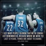 Dont 😴 on the T-Wolves! https://t.co/qMWzngWdoj