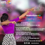 When ihr #TidalRave2016 All I do is to #DadForPeace https://t.co/W6yQnGqa8T