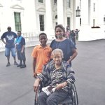 Thanks for hosting us @WhiteHouse! My 93yo grandma can check this off her bucket list! She missed #POTUS @ #FLOTUS https://t.co/f2fi9Bp8nw