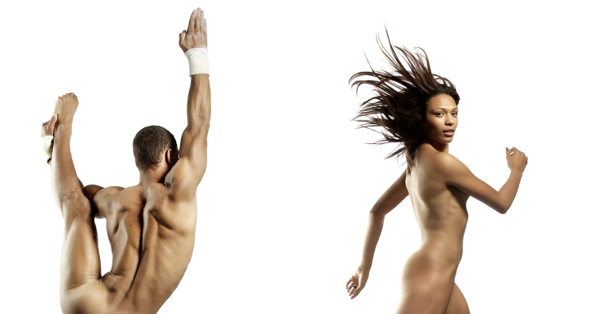 Mitchell naked dryden