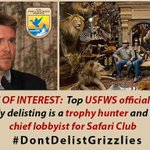 .@NRDems Trophy hunting NOT conservation. Why trophy hunter, ex SafariClub lobbyist in charge at @USFWSMtnPrairie https://t.co/mgMbFldHZo