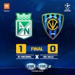 É CAMPEÃO!!! O Atlético Nacional bate o Ind. Del Valle e se sagra campeão da #LibertadoresFOXSports! https://t.co/D8NgPxW2AQ