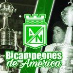 Somos el único equipo del país con dos títulos de Copa Libertadores. #SueñoCumplido #NacionalDaleCampeón https://t.co/Nsxks9hawg