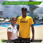 1st Jamaican female Olympic diver Betsy Sullivan meets 1st Jamaican male Olympic diver Yona Knight-Wisdom @Leedsajax https://t.co/Gen81zK2Wy