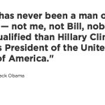 WATCH LIVE: Obama: There has never been a man or woman more qualified than Hillary https://t.co/p0sxuPjSFV https://t.co/gbztaJU1jk
