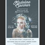 2/2 celebrate @madelinespooner s EP release SUN 7/31 @ 8PM @BOOTLEGtheater w/ @zealyn and @WRENN #LosAngeles #Music https://t.co/FU7pWWnr9U