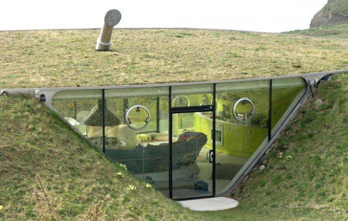 Дом под землей фото