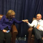 .@ShuttleCDRKelly & I are ready to tell the #DemsInPhilly why we are voting for @HillaryClinton! #ImWithHer https://t.co/aoS9eOMF8z