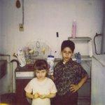 Hoy cumple años mi hermana @YosStoP y aunque parezca que no nos queremos somos hermanos. https://t.co/78TxYHPgmn
