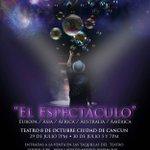 Hoy a las 7 pm en el #Teatro8deOctubre #ElSeñordelasBurbujas ¿Ya tienes tus boletos? @VivoEnCancun @AytoCancun https://t.co/QPWi0raSlT