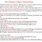 Labour Plotters get very upset every time I share Jeremy Corbyns policies. On that note I share them again...... https://t.co/tIjh84KQgF