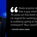.@POTUS goes after @realDonaldTrump in his #DemsinPhilly remarks https://t.co/SVJn4sBzsa https://t.co/ke4RbjhP2q