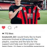 Best of luck, Brad 👍 youll be appreciated there hopefully. #lfc #afcb https://t.co/hycrsu7YMu