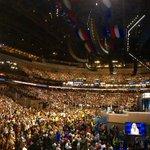 Dr. Jill Biden kicking off the highly anticipated headliners of Day 3. Up soon: Joe Biden, Tim Kaine, @POTUS. https://t.co/Vuj9fqOdmA