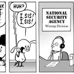 Todays strip that did not run in papers. Seems harmless to me, but I guess these are sensitive times. https://t.co/mVse54tmEg