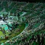 Mosaico da torcida do São Paulo >>>>>> Mosaico da torcida do Atlético Nacional! https://t.co/It6yubrtaa