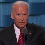 """(Donald Trump) has no clue what makes America great. Actually he has no clue, period."" - Joe Biden #DEMSInPhilly https://t.co/7A3zXRV5tX"