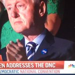 """I just want to point out Bill Clinton is wearing a Hebrew """"Hillary"""" (הילרי) pin tonight at the Democratic convention https://t.co/ra4MwCjBEg"""