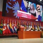 Nuestro reconocimiento a Carmen Moreno y @alelenegrete por hacer de #DiálogoPorLasMujeres de @OEA_oficial un éxito. https://t.co/qgo8EqWjDm