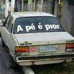 #NoisÉPobreMas Tem carro. https://t.co/nEzHGglqbH