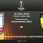 Eiropas futbola vakars Rīgā! Mūsu pārstāvjiem @fkjelgava būs nepieciešams Tavs atbalsts https://t.co/Ix98WxkCy4 https://t.co/RvrxCiJVKm