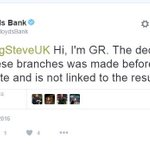 """BBC: """"Lloyds Bank job cuts are down to Brexit."""" Lloyds Bank: """"Its not due to Brexit, decision was taken earlier."""" https://t.co/hVAAX64hoV"""