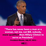 .@POTUS is ready to pass the baton and help elect @HillaryClinton! #DemsInPhilly #PinkOutTheVote https://t.co/w6cQlYRmgD