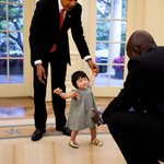 POTUS and niece, 2010. Still one of my favorite photos of Obamas presidency. https://t.co/9NzrWsvWyi