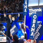 Ok Ive officially lost it, watching the 1st black POTUS passing baton to the future 1st female POTUS 😭#DemsInPhilly https://t.co/W0gPh5HXSz