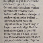Sagt: Rafael Behr, Professor für Polizeiwissenschaft an der Akademie der Polizei Hamburg (aus: @derfreitag) https://t.co/H9vjbJuMXf