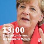 Terrorismus, Flüchtlingspolitik und die Konsequenzen. Es gibt viel zu besprechen. #Merkel #Pressekonferenz https://t.co/8u1woW4J7x