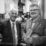 Sir James MacMillan @jamesmacm in post event conversation with pianist Charles Owen @owenpiano Photo @gerardcollett https://t.co/AXSz3El8ZV